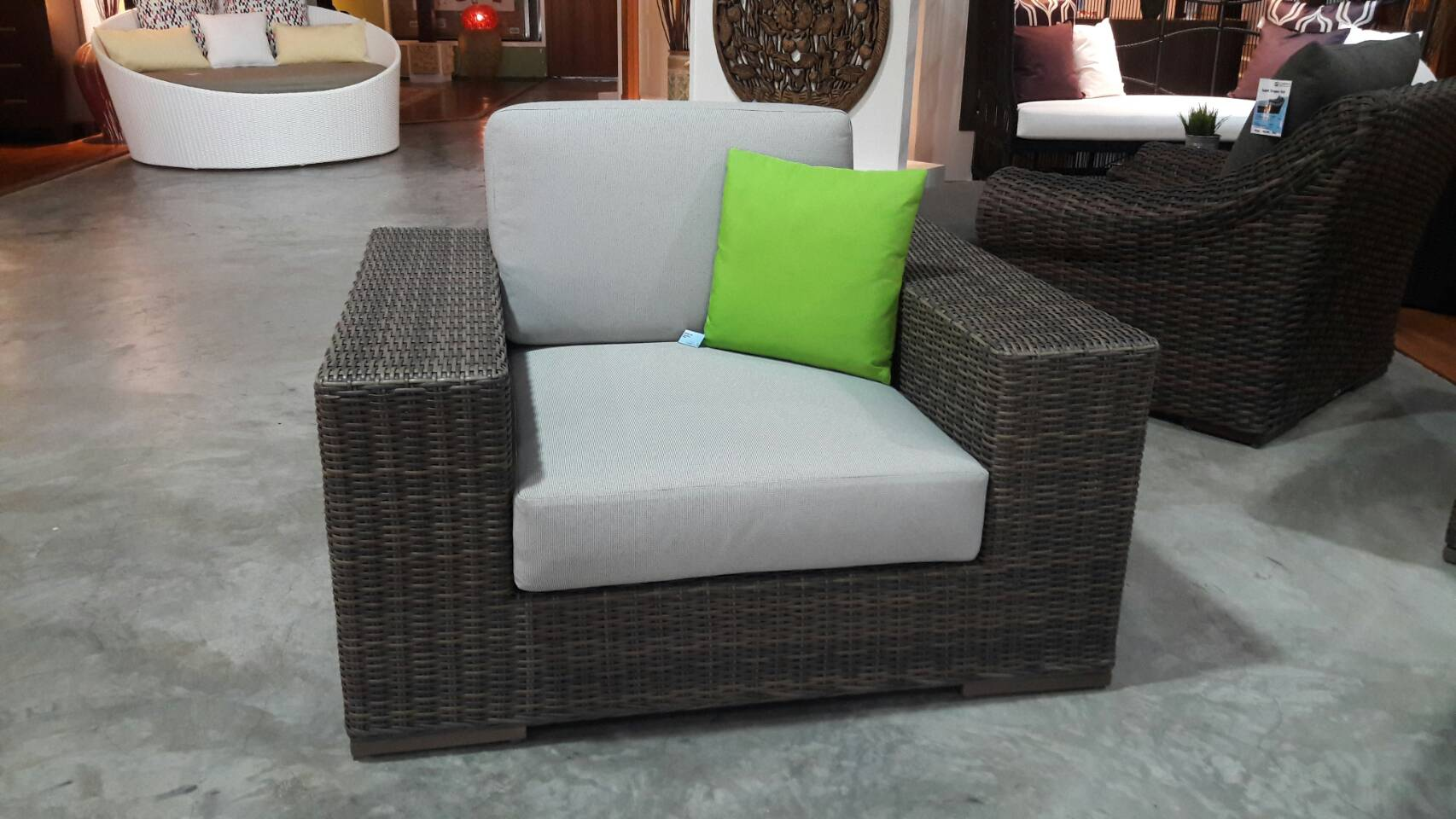 LC-NBU/Kubu Lei Lounge chair 016220429